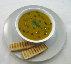 Pumpkin and Celery Soup