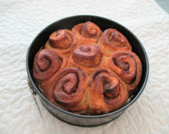 Toffee Apple Upside Down Buns