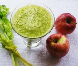 Apple and Celery Juice