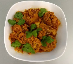 Chilli Garlic Cauliflower
