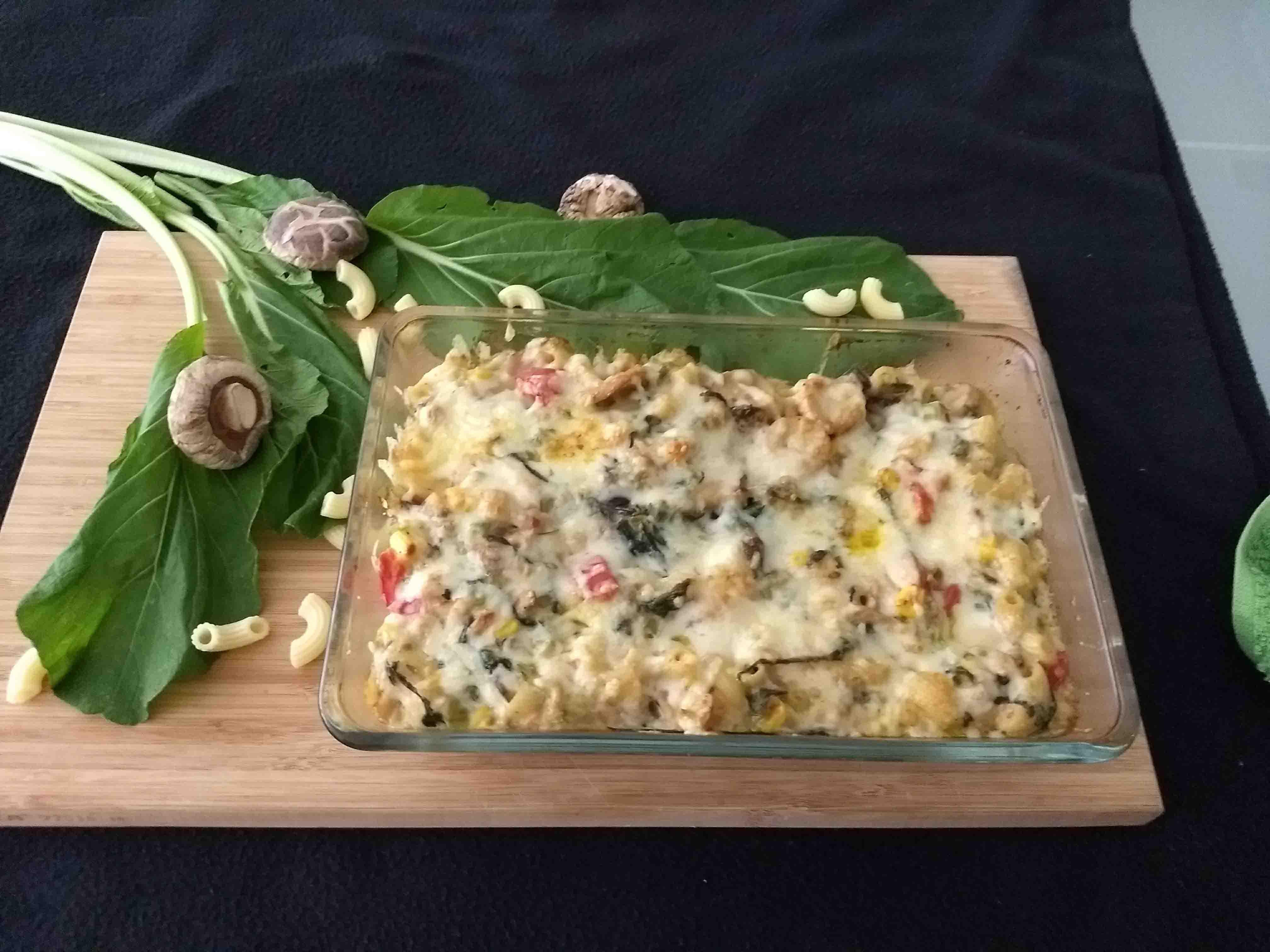 Spinach Pasta Casserole