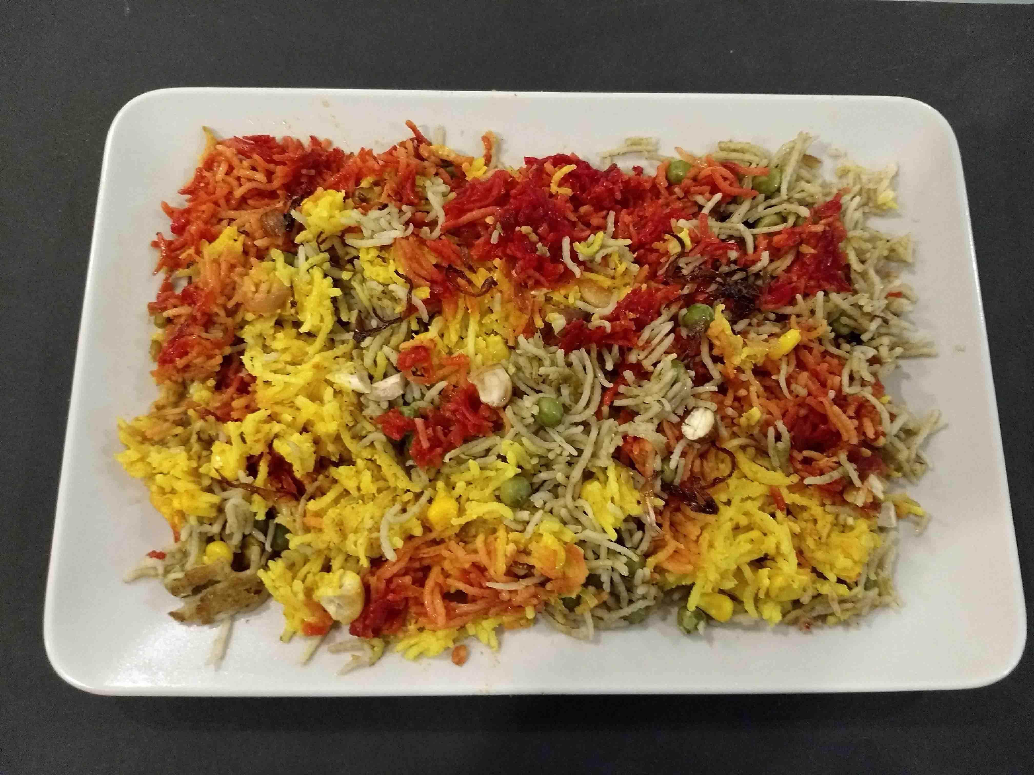 Tricolor Rice