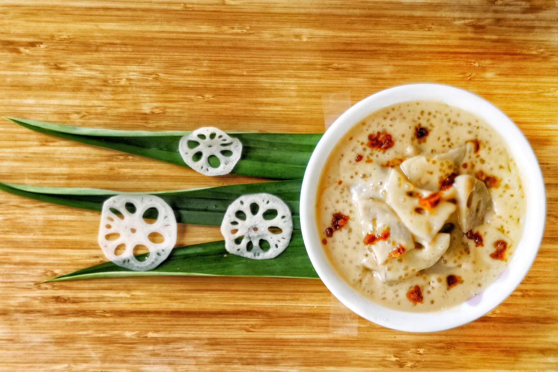 Lotus root N Sago Dessert